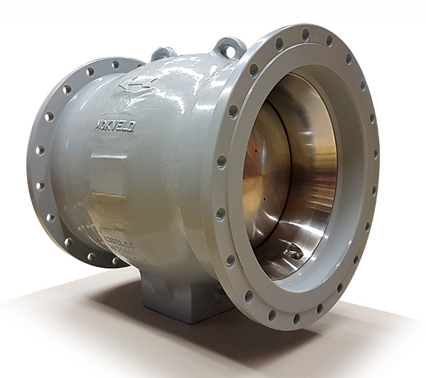 Low Dp Axial Check Valves For A Drinking Water Pumping