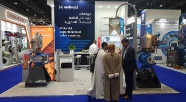 Mokveld participated in ADIPEC 2019 in Abu Dhabi