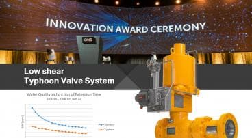 Typhoon Valve System is an ONS2018 Innovation Award Finalist!