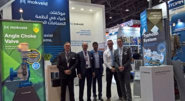 Mokveld participated in Adipec exhibition 2017