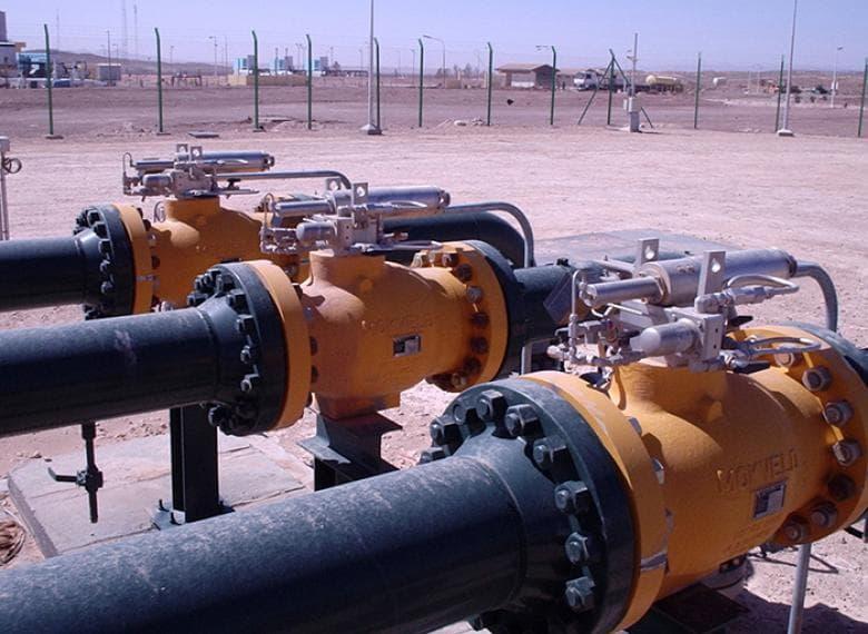 Axial surge relief valves, Algeria