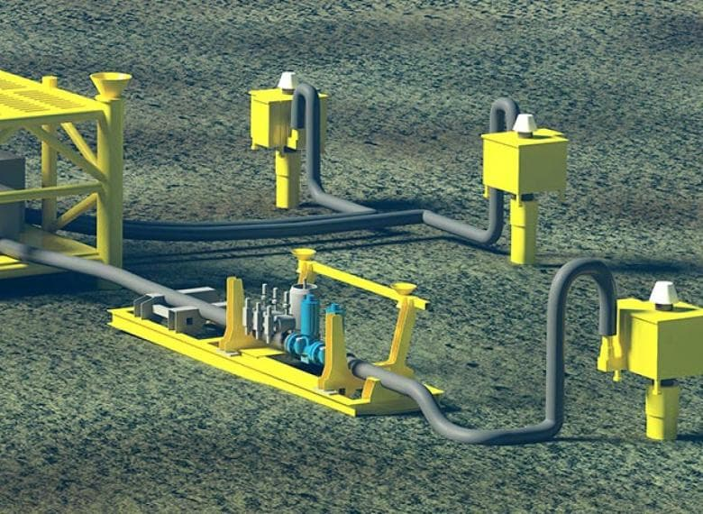 Subsea axial on-off valves as final elements in Subsea HIPPS module