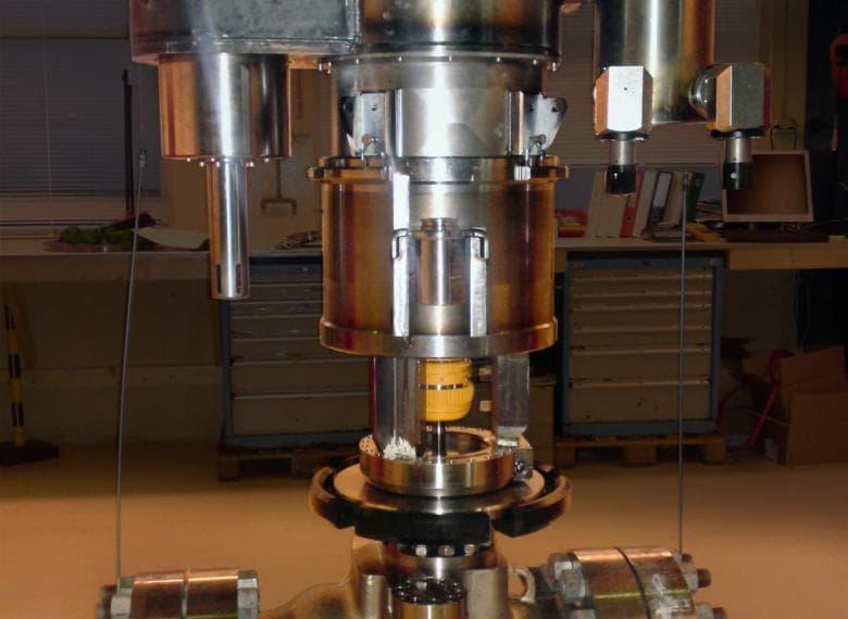 Mokveld's subsea axial control valve.